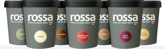 Seven great flavours to launch Rossa Ice Cream